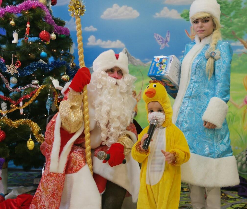 Новогодние чудеса в детском онкоотделении