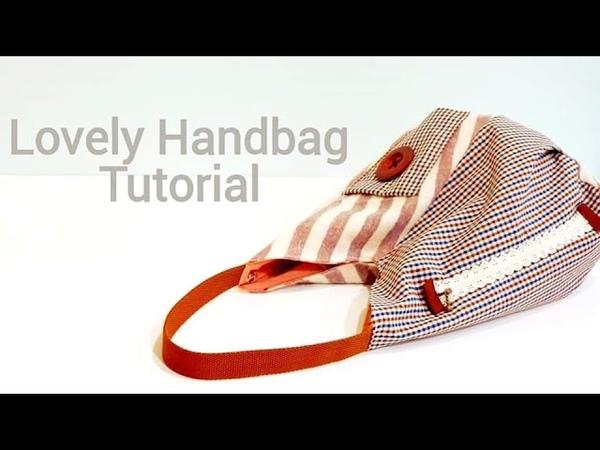 Diy sewing project | Lovely handbag tutorial【超爱这种休闲包,很可爱吧!!!】 HandyMum ❤❤ » Freewka.com - Смотреть онлайн в хорощем качестве