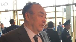 Рахимов на инаугурации Хабирова: «Хамитов был черным пятном»