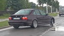 BMW M5 E39 V8 with Supersprint X-Pipe Skytune Exhaust Sound!