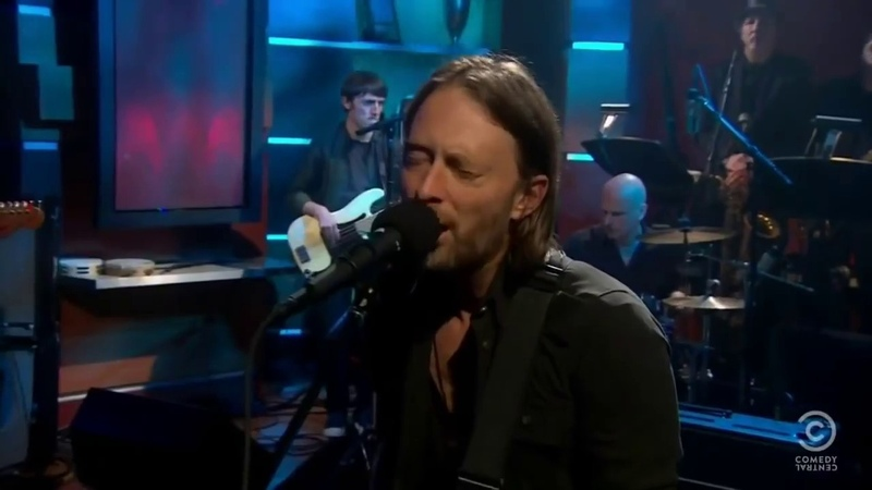 Radiohead Bloom Live Colbert Late Show 2011 HD