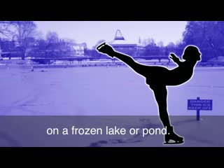 English in a minute - skating on thin ice