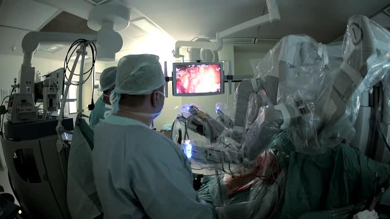 Оперблок Роботизированная хирургия