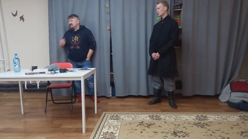 Традиционная одежда кулачных артелей лекция Базлова Г Н Красноярск 21 12 19