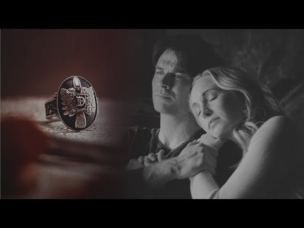 ● Can you hold me.. ? || Damon and Caroline.