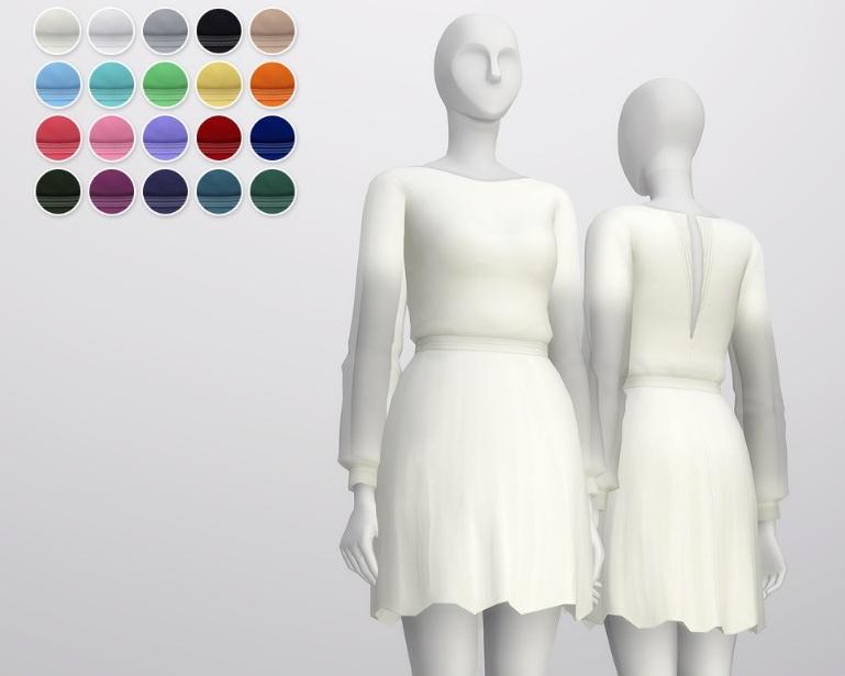 Повседневная одежда (платья, туники) - Страница 55 Prjz_qVqvb0