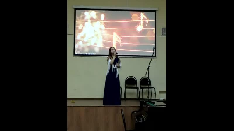 Концерт в Вытегорской школе искусств Фрагмент 8