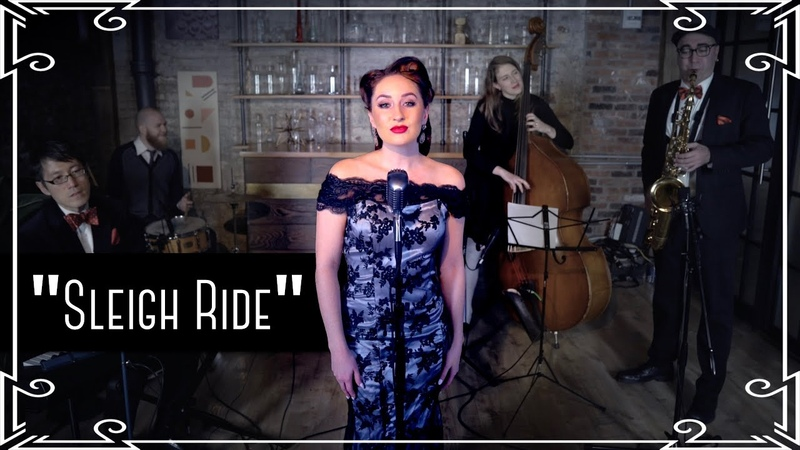"""Sleigh Ride"" (Ella Fitzgerald) Jazz Cover by Robyn Adele Anderson"