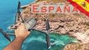 Дикиий пляж натуристов Raco Del Conill Видео с дрона. Исследуем пригород Бенидорма! Испания Влог №87