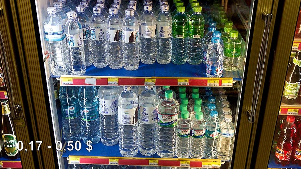 Цены на продукты и еду в Таиланде.  NEGxHvAB6HQ