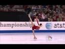Sasha Cohen Spiral Sequence 2 71 GOE 2010 U S Nationals