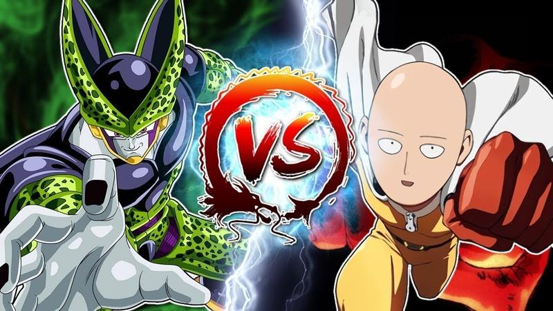 Сайтама против Селла Ванпанчмен пародия Аниме пародия Фан анимация