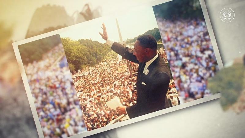Доктор Мартин Лютер Кинг Маяк неотъемлемых прав человека во всем мире