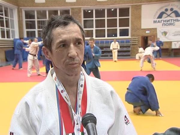 Видеосюжет об южноуральских медалистах чемпионата мира по дзюдо среди ветеранов в Абу Даби