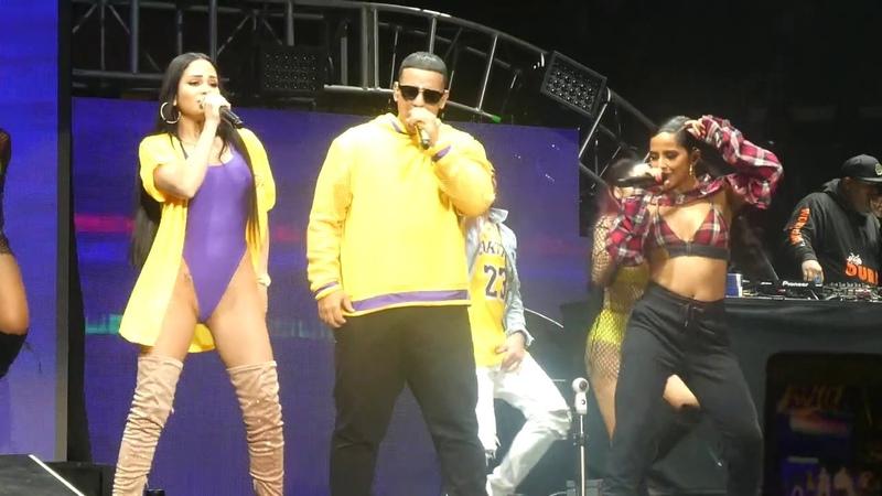 Daddy Yankee Natti Becky G en Calibash 2019 Dura 4K Video