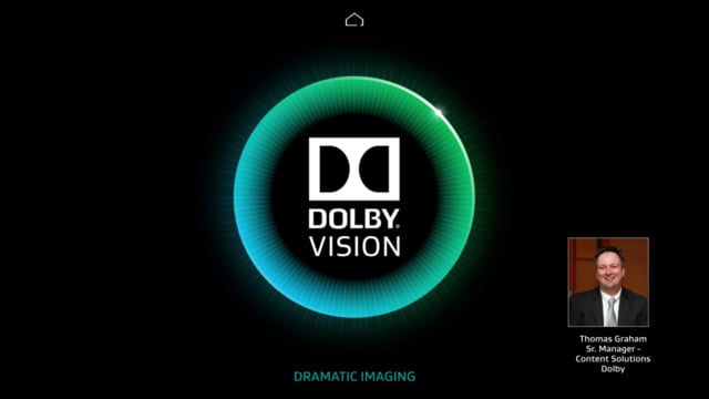 Dolby Vision Content Creation Workflow