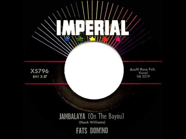1961 HITS ARCHIVE Jambalaya On The Bayou Fats Domino
