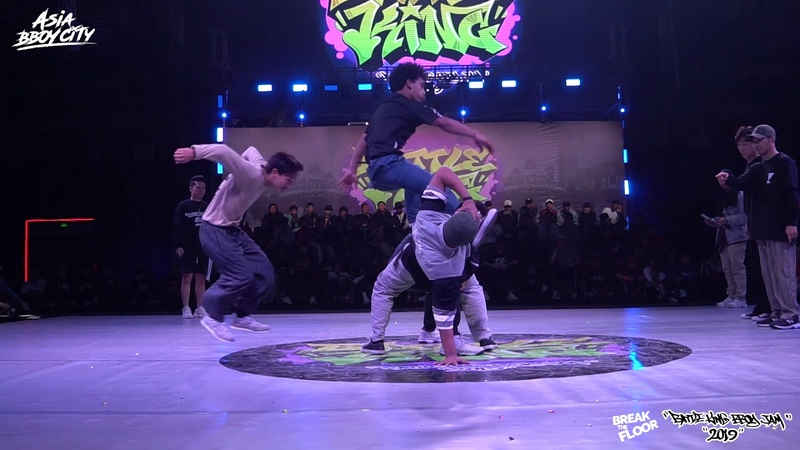 Let's Break vs Fusion MC | Semi-Finals | Bboy 4on4 | Battle King 2019 x Break The Floor