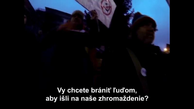 Liberáli spolu s asociálmi sa pokúsili rozbiť aj míting ĽSNS v Sobranciach