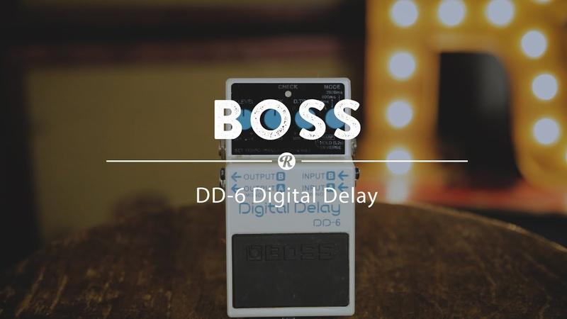 Boss DD-6 Digital Delay   Reverb Demo Video