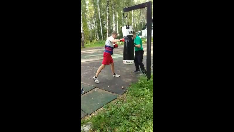 школабокса бокс урокбокса тренировкипобоксу работанамешке наспорте coach_gavrilin_evgeny