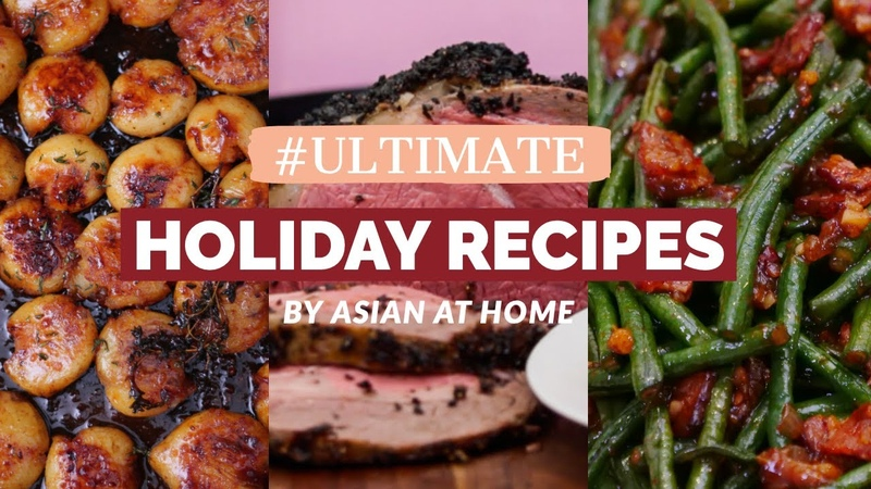 Ultimate Holiday Recipes by Asian at Home! Honey Butter Potatoes, Prime Ribs Spicy Long Beans!