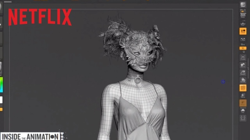 LOVE DEATH ROBOTS Inside the Animation The Witness Netflix