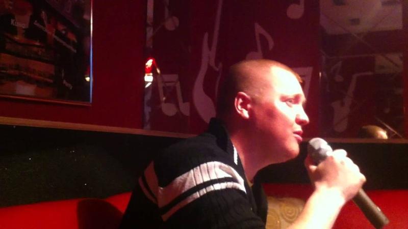 Live исполнения в караоке солиста Ритм Дорог песни Руки вверх – Танцуй без меня