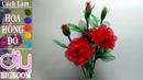 Hướng dẫn cách tự làm Hoa Hồng bằng vải voan cực đẹp | DBB-VN