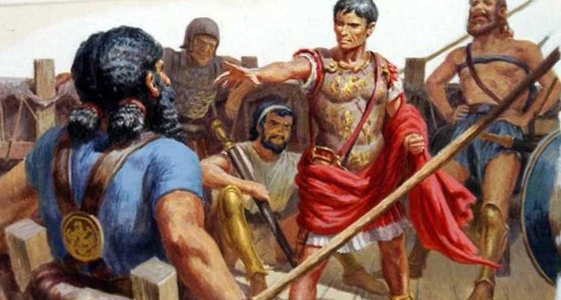 Цезарь и пираты