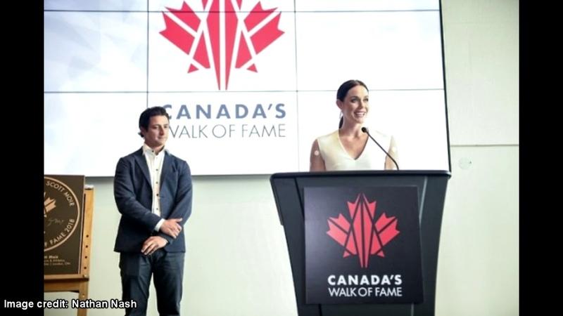 Tessa Virtues Walk of Fame Hometown Stars Speech (Audio)