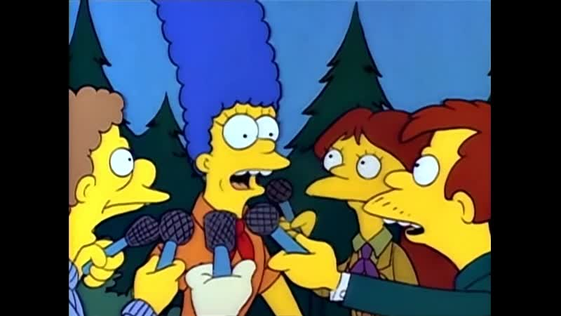 Симпсоны Мардж замужем за бигфутом 1s7e
