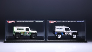 Lamley Preview: Hot Wheels X Period Correct Land Rover Defender 110 & Mercedes-Benz G-Class