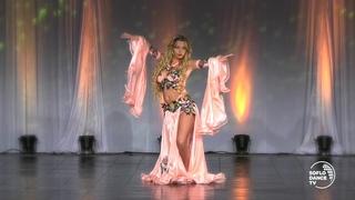 Yulianna Voronina at 2018 Miami Bellydance Convention