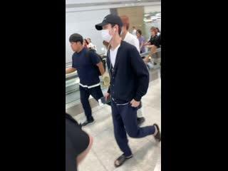190809 #exo #sehun @ incheon -> hong kong airport