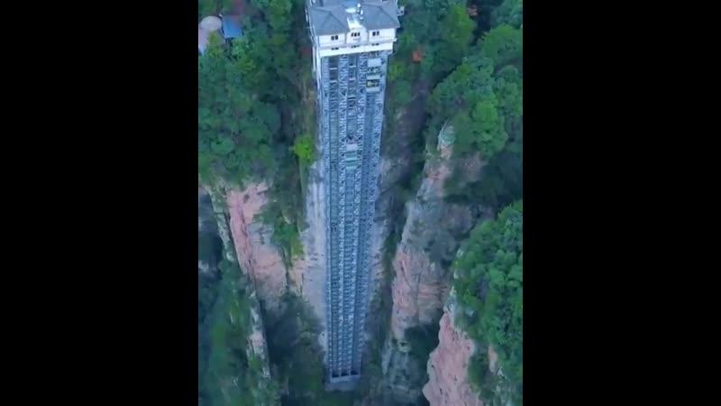 Лифт Байлун в Китае