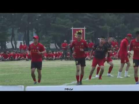 190618 해병대 부대 개방행사 군대스리가 경기 전 준비운동!