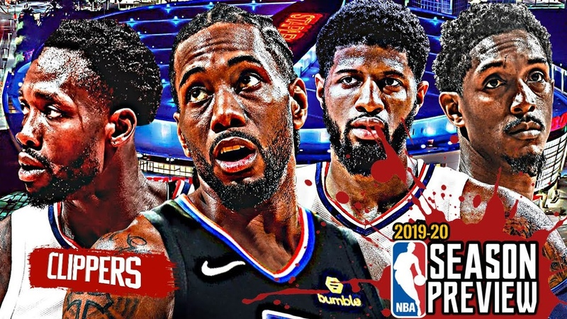 Los Angeles Clippers NBA Season Preview: Kawhi Leonard Paul George Lou Williams 2019 20