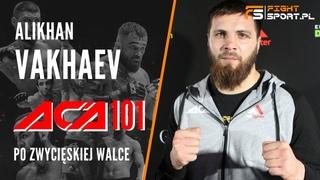 "Alikhan ""Umar"" Vakhaev (Алихан Вахаев) po ACA 101 ma nadzieję na rewanż z Volkanem Oezdemirem z UFC"