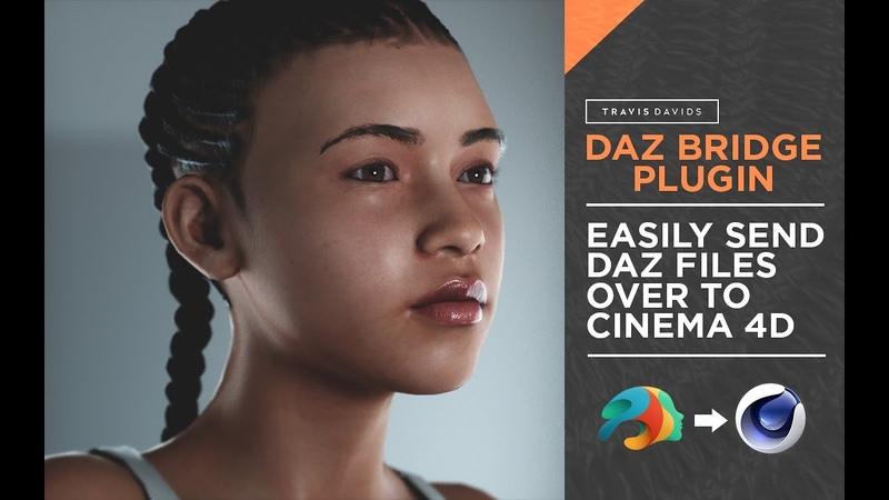 Easily Send Daz Files Over To Cinema 4D - Daz Bridge Plugin