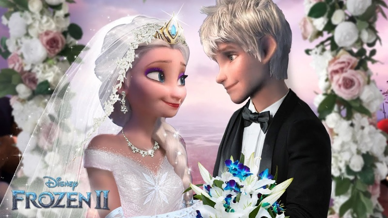 Frozen 2 Elsa and Jack Frost are getting married! The royal Jelsa wedding! ❄💙Alice Edit!
