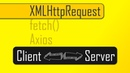 Sending JavaScript Requests with XML Request