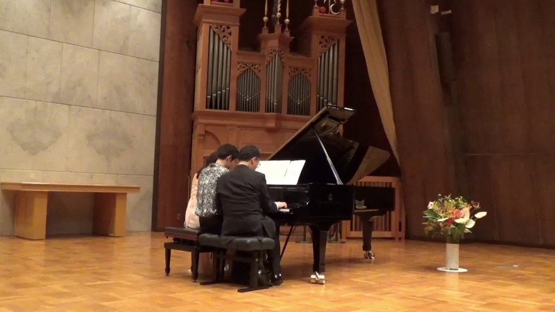 Alexei Song Alexei Sultanov's improvisation arr.for piano 6hands by Yamaguchi Iga