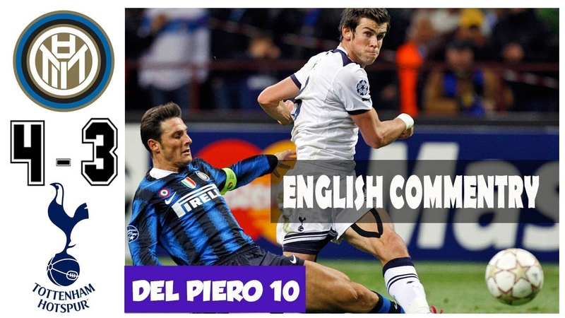 Inter Milan vs Tottenham 4 3 A Brilliant Hattrick Bale in San Siro UCL 2010 2011