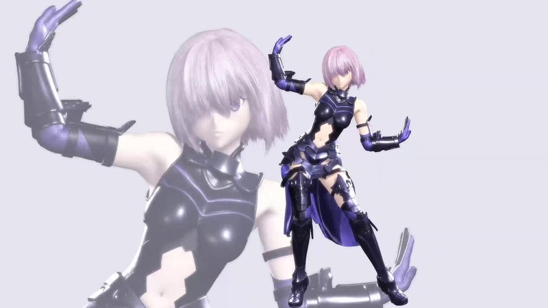 [MMD] Mash Kyrielight dance [Fate/Grand Order] (Jigg - So Hot)
