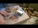 мраморная подставка с виноградом для цветов или вазы ч 1