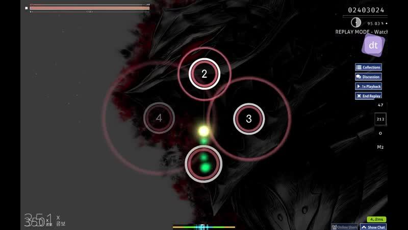 Skillet - Monster [Mirash's Insane]  A  /92.26%\ {clear} (5.62*)