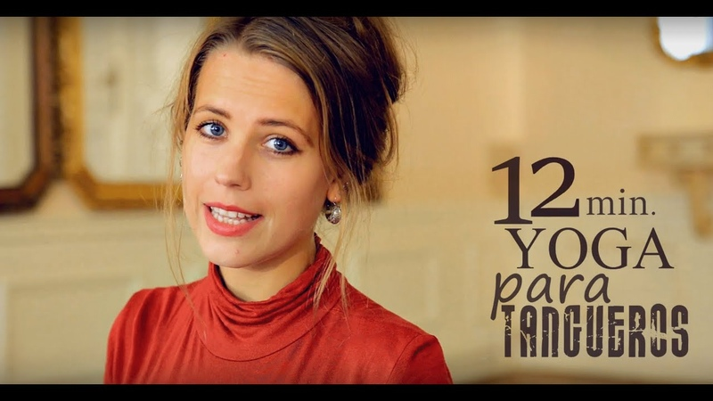 12 min Tango Training Yoga Para Tangueros dissociation in standing positions