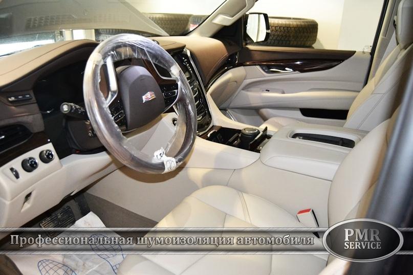 Шумоизоляция Cadillac Escalade ESV, изображение №17
