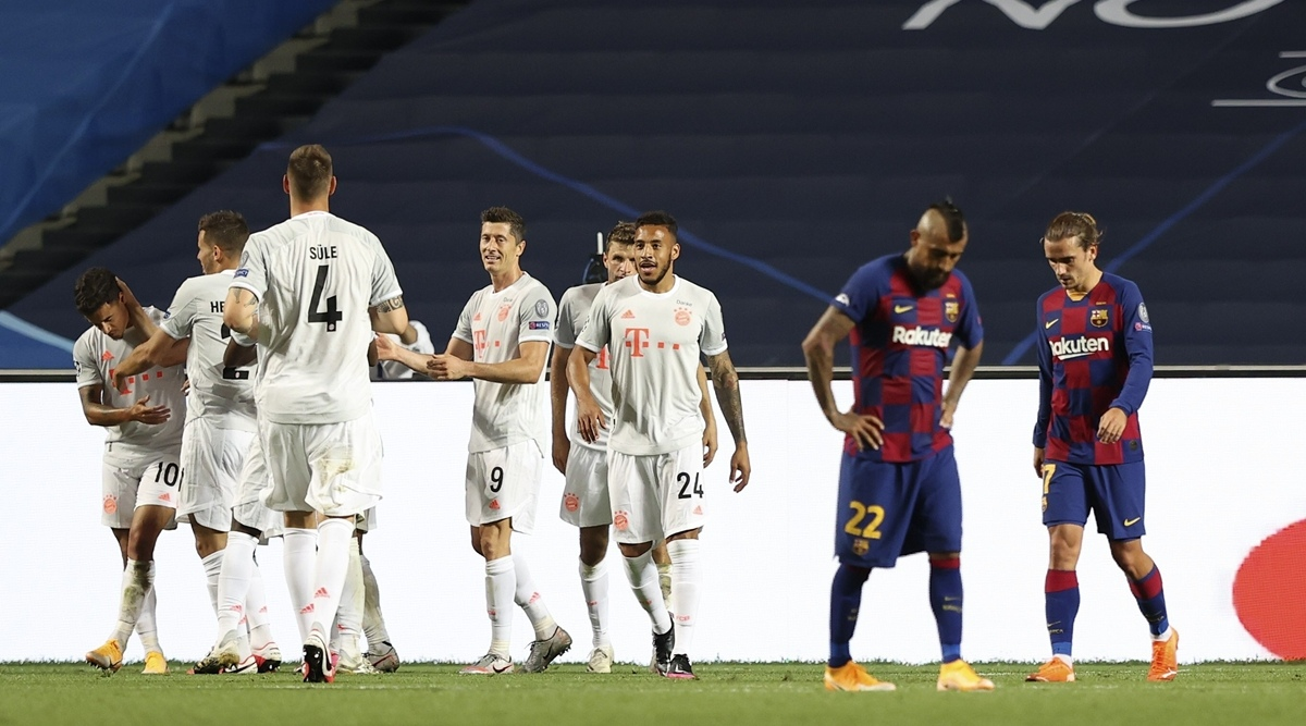 Барселона - Бавария, 2:8. 1/4 финала Лиги чемпионов 2019/20